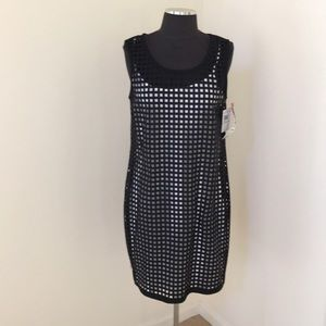 NWT! Muse size 8 black dress with cut outs